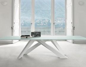 Tavolo rettangolare a quattro gambe Big table Bonaldo scontato