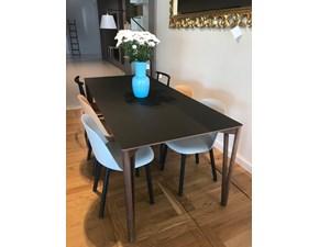 Tavolo rettangolare a quattro gambe Decapo  Miniforms scontato