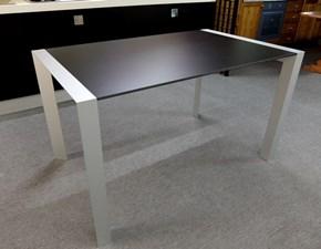 Tavolo rettangolare a quattro gambe Domino Artigianale scontato
