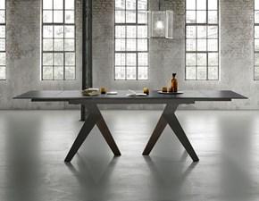 Tavolo rettangolare a quattro gambe Fly Zamagna scontato