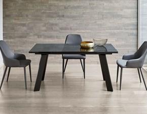 Tavolo rettangolare a quattro gambe Gulliver art. 42.79  Ingenia scontato