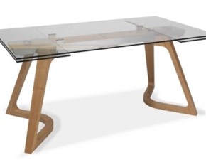 Tavolo rettangolare a quattro gambe Heav of Md work scontato