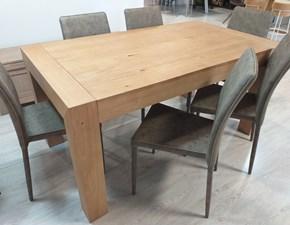 Tavolo rettangolare a quattro gambe Julien Artigianale scontato