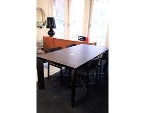 Tavolo rettangolare a quattro gambe Lema tavolo thera + 4 sedie daiku  Lema scontato