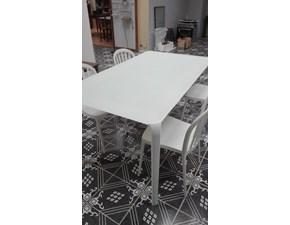 Tavolo rettangolare a quattro gambe Light Tonin casa scontato