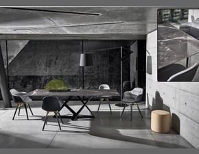 Tavolo rettangolare a quattro gambe Millenium Bontempi casa scontato