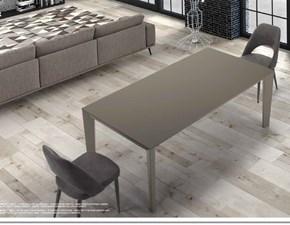 Tavolo rettangolare a quattro gambe Mod. seven di lazzaro Di lazzaro scontato
