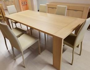 Tavolo rettangolare a quattro gambe Prado Varaschin scontato