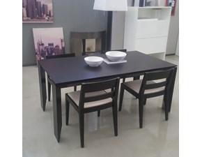 Tavolo rettangolare a quattro gambe Prisma Misuraemme scontato