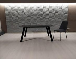 Tavolo rettangolare a quattro gambe Raw + 4 sedie branch Artigianale scontato