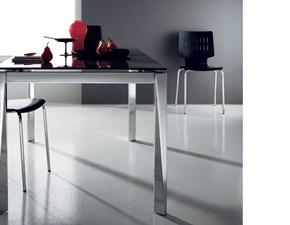 Tavolo rettangolare a quattro gambe Scenery Scavolini scontato