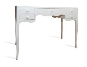 Tavolo rettangolare a quattro gambe Scrittoio Artigianale scontato