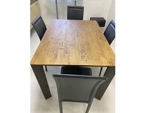 Tavolo rettangolare a quattro gambe Sharp Fgf mobili scontato