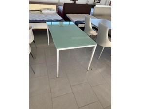 Tavolo rettangolare a quattro gambe Tavolo 80 x 140 pronta consegna Md work scontato