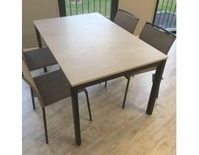 Tavolo rettangolare a quattro gambe Tavolo allungabile 140 x 90 cm allungabile scontato Madrassi scontato