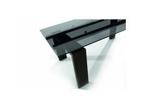 Tavolo rettangolare a quattro gambe Tavolo brooklin tonin casa Tonin casa scontato