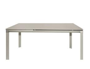 Tavolo rettangolare a quattro gambe Tavolo chat165 alluminio bonaldo Bonaldo scontato