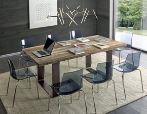 Tavolo rettangolare a quattro gambe Tavolo in legno vecchio zpt002 Artigiani veneti scontato