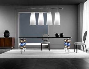 Tavolo rettangolare a quattro gambe Tavolo luxury vetro di murano Md work scontato
