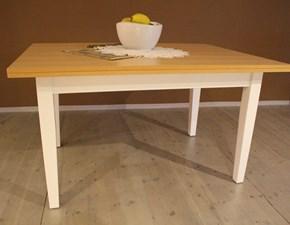 Tavolo rettangolare a quattro gambe White  Artigianale scontato