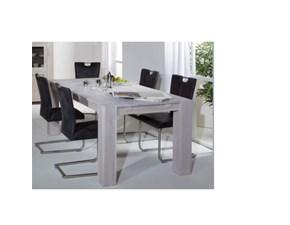 Tavolo rettangolare allungabile 200 cm in legno di rovere