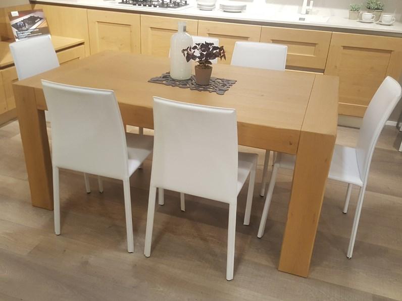 Tavolo rettangolare allungabile Alik Veneta cucine a prezzo ribassato