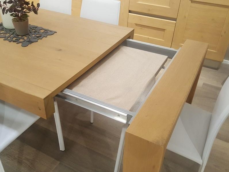 Tavolo rettangolare allungabile Alik Veneta cucine a prezzo ...