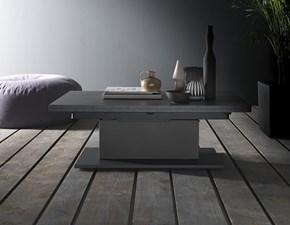 Tavolino trasformabile in tavolo allungabile Ares book Altacom a prezzo ribassato