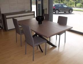 Tavolo rettangolare allungabile Artistico Bontempi casa a prezzo ribassato