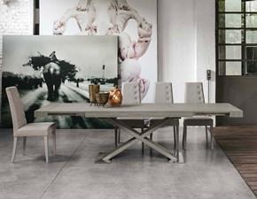 Tavolo rettangolare allungabile Asterion 180 Mottes selection a prezzo scontato