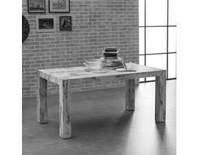 Tavolo rettangolare allungabile Brooklin Tecno a prezzo ribassato