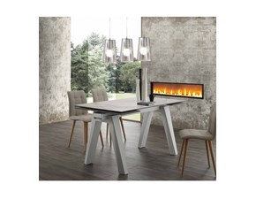 Tavolo rettangolare allungabile Caronte ceramico La seggiola a prezzo scontato