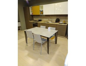 Tavolo rettangolare allungabile Cruz xxl 20.69 supercemento ghiaccio Bontempi casa a prezzo ribassato