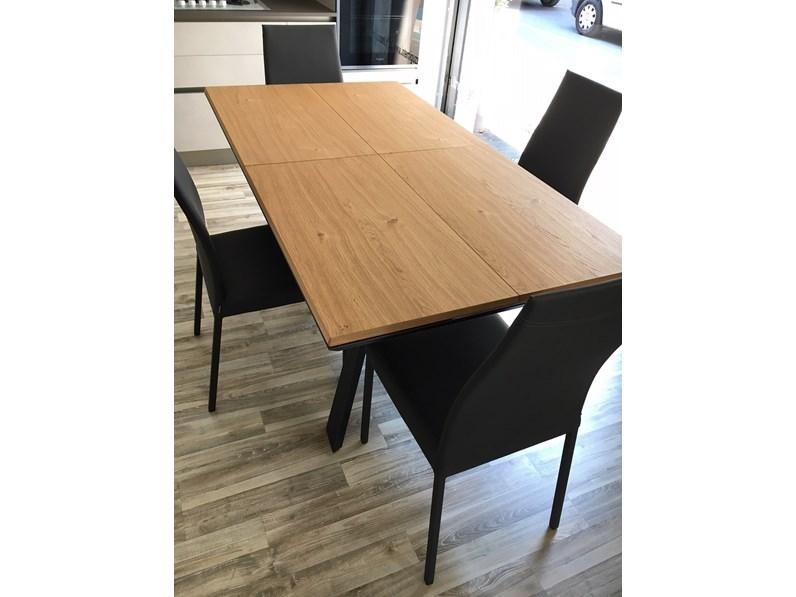 tavolo rettangolare allungabile e allargabile fil8 in rovere
