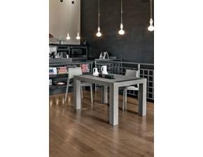 Tavolo rettangolare allungabile Mottes mobili monolite 130 Artigianale a prezzo scontato