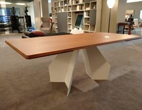 Tavolo rettangolare allungabile Origami  Bonaldo a prezzo ribassato