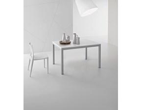Tavolo rettangolare allungabile  plutone con 4 sedie emy  Point house a prezzo scontato