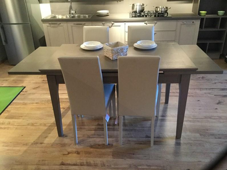 Tavolo rettangolare allungabile Romagnolo Stosa cucine a prezzo ribassato