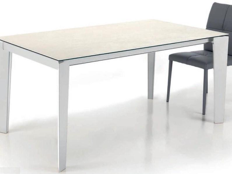 tavolo rettangolare allungabile scontato del 22%