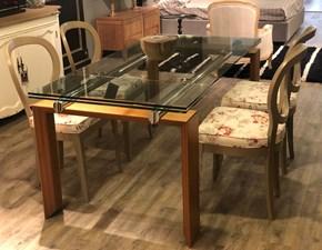 Tavolo rettangolare allungabile Stilt Desalto a prezzo scontato
