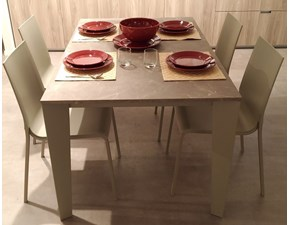 Tavolo rettangolare allungabile Tavolo modello cruz Bontempi casa a prezzo scontato