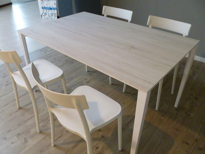 Tavolo rettangolare allungabile Timeless Scavolini a prezzo scontato