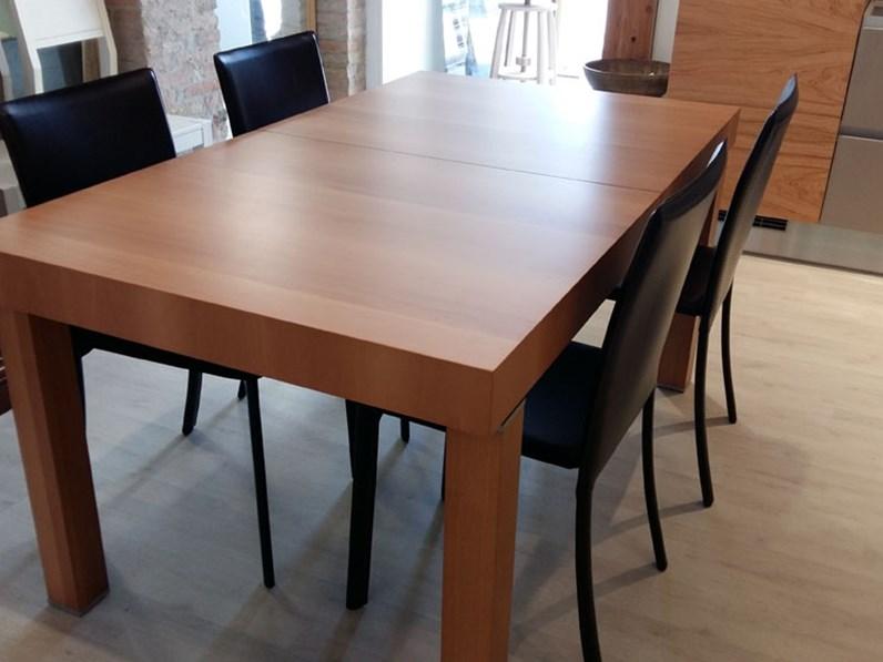 Tavolo rettangolare aster scontato del 58 tavoli a for Zanotto arredamenti