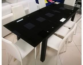Tavolo rettangolare a quattro gambe Spam di Stones