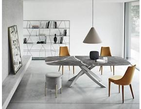 Tavolo rettangolare con basamento centrale Artistico 52.89 Bontempi casa scontato