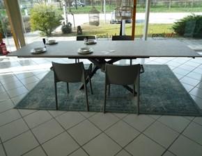 Tavolo rettangolare con basamento centrale Origami Sedit scontato