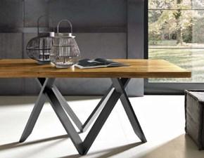 Tavolo rettangolare con basamento centrale Tavolo in legno fisso Fgf scontato