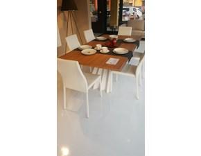 Tavolo rettangolare con basamento centrale Tavolo ventaglio Tonin casa scontato