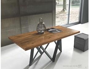 Tavolo rettangolare con basamento centrale Twist Fgf mobili scontato