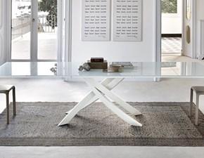 Tavolo rettangolare con basamento con basamento centrale Artistico Bontempi casa